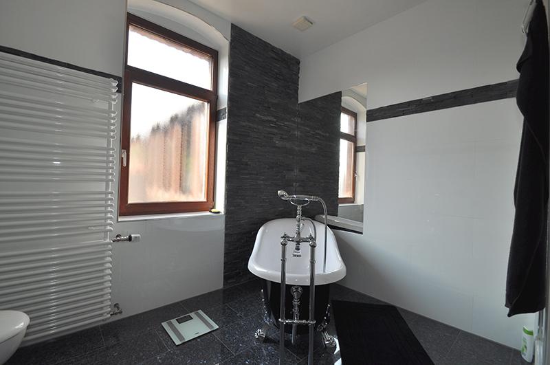 badumbau in mannheim mit wandfliese von rak granitverblender und granit. Black Bedroom Furniture Sets. Home Design Ideas